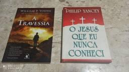 2 livros A travessia - Jesus Philip Yancey