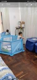 Título do anúncio: Cercadinho infantil azul