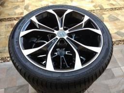 Jogo De Rodas New Civic Kr R29 5x114 18 Com Pneus