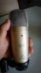Título do anúncio: microfone behringer c1