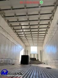 bau gancheiro capacidade para 16 paletes com escada e elétrica integrada