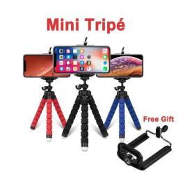 Mini tripé para celular e câmera