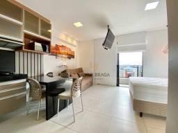 Apartamento Edf Time, com 1 dormitório para alugar, 41 m² por R$ 2.200/mês - Ponta Verde -