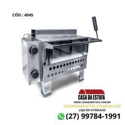 Forno para Pizza a Gás Inox 430 - Infravermelho