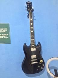 Guitarra Memphis + Pedaleira Zoom