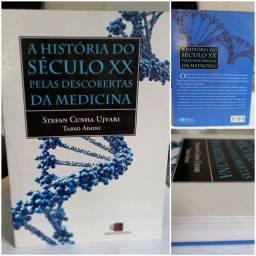 Livro A História do  Século XX , Pelas descobertas da Medicina  novo.