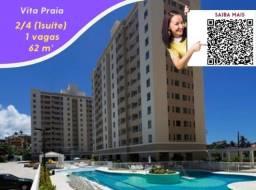 Oportunidade , 1 vaga , Vitta Praia ,62m² , Itens de lazer completo , 2 quartos (1 suíte)