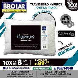 Título do anúncio: Travesseiro Hypinos Íons de Prata
