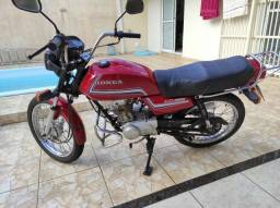 moto honda cg 125 ano 1986