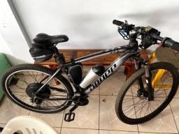 Bike elétrica toda Shimano