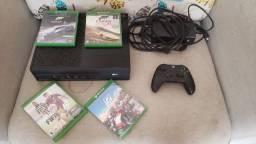 Xbox One com Controle - Kinect - Varios jogos
