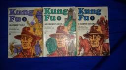 3 Livros Kung Fu