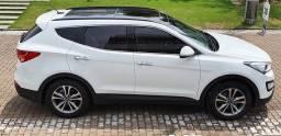 Impecável Hyundai Santa Fe V6 3.3 2015 somente 54 mil km