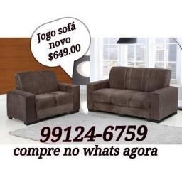 Jogo de sofá novo direto da fábrica barato entrega