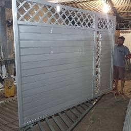Portão de alumínio 370 metro quadrado
