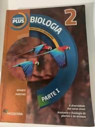 Livros usados de Portugês, Biologia e Química (2° ano do ensino médio)