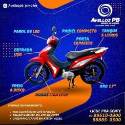 Moto avelloz Az1 - Zero Km 2021 - R$ 7.690 A Vista Com Emplacamento - JC Motos Mandacaru