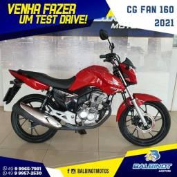 CG Fan 160 2021 Vermelha