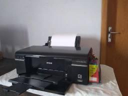 Impressora Epson Stylus Photo T50 Cd/ Dvds ( com bulk ink)