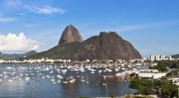 Apartamento temporada kitnet Praia de Botafogo mobiliado tv/wifi prox Metro