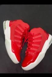 Nike Jordan Max Aura GS Gym Red Black White Ice Cq9544 600 Size 7y