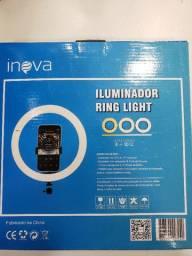 """Ring Light 10"""" com suporte para celular 3 opções de cores"""