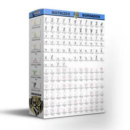 Matriz bordados alfabeto