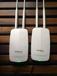 Roteador Wireless Intelbras Hotspot 300 Facebook