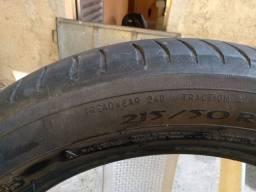 4 pneus  Michelin  aro 17