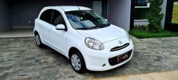 Nissan March 1.6S 2014 - Completo - Aceito Troca - Financiamento Entra + 699 Parcelas