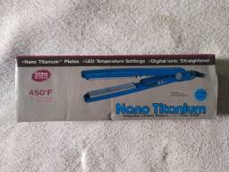 Prancha Chapinha - Titanium (100% Novo Na Caixa A Verdadeira) 110/220 Bivolt