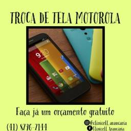 Troca de tela, Motorola