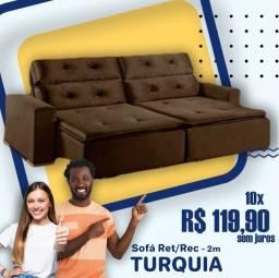 Título do anúncio: Oferta Sofa Retrattil L 2,00m //ZAP *