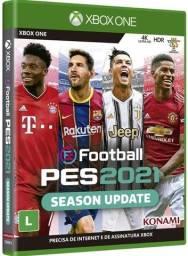 Jogo eFootball PES 2021 Xbox One Mídia Física Lacrado
