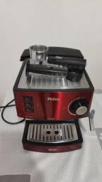Cafeteira Philco Expresso 20 Bar Inox Red<br><br>