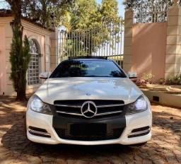 Título do anúncio: Mercedes benz c180 coupé turbo teto panorâmico