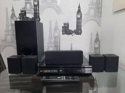 Home Theater 5.1 LG 1000 watts BARBADA!