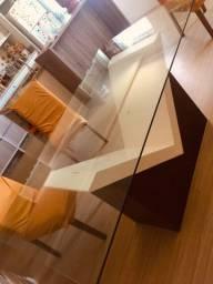 Vendo mesa de vidro por 300 reais