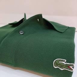Camisa Polo Lacoste Verde L 12.12