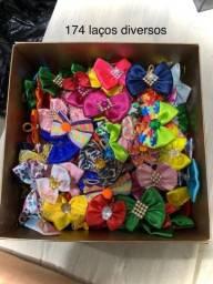 Laços e Gravatas sortidos para pets