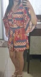 Macaquinho Dress