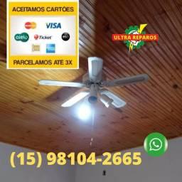 Vêntilador de teto Instalação#