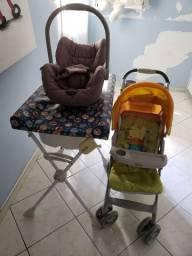 Carinho de Bebê + Bebê conforto + banheira