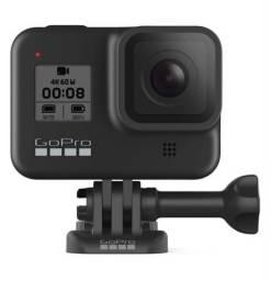 Câmera GoPro HERO8 Black - à Prova D?água 12MP 4K Wi-Fi - Preto