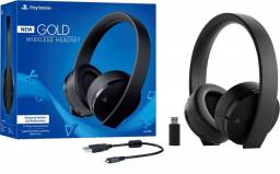 Fone de ouvido/Headset New Gold Wireless 7.1 - Sony