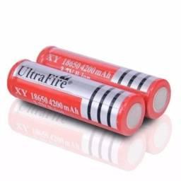 Título do anúncio: bateria recaregavel  18650 utrafirc 8800 mah 3.7V li-ion  de bateria