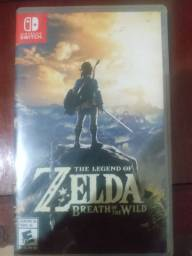 Zelda Breath of The Wild - Switch - Físico - Semi Novo