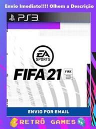 FIFA 21 - PS3 Bloqueado  *Olhe a descrição!!!!*