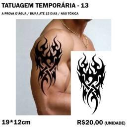 Tatuagem Temporária Tribal