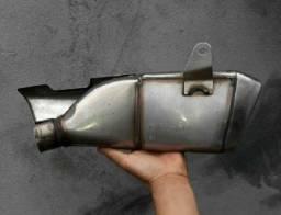 Ponteira escapamento da CBR 600 Honda hornete